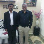 Pst Shahzad Anjum with Pastor Ajmal Khan